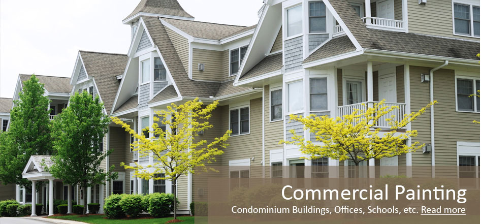 Chicago residential and commerical painting services interior and exterior - The giant slide apartament ...