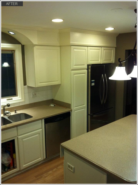 interior kitchen remodeling and cabinet painting mount