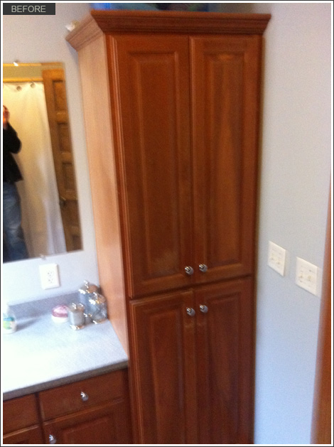 Kitchen and bath cabinet refinishing by wrigley field chicago