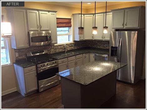 Kitchen Cabinet Refinishing - Roscoe Village, Chicago, IL