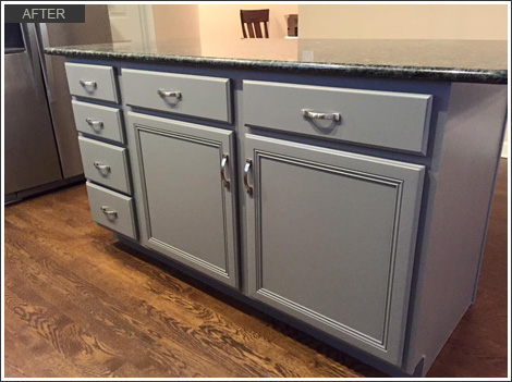 Kitchen Bath Cabinet Painting Wrigleyville Il After11