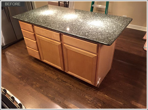 Kitchen Cabinet Refinishing Roscoe Village Chicago Il Before33