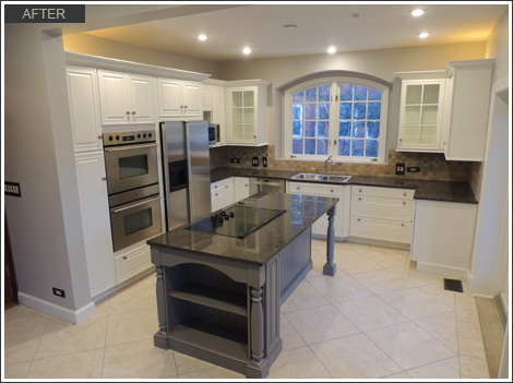 Cabinet refinishing edgewater chicago il for Kitchen cabinets 60631