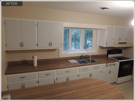 Vintage Kitchen Cabinet Painting Lake Bluff Il