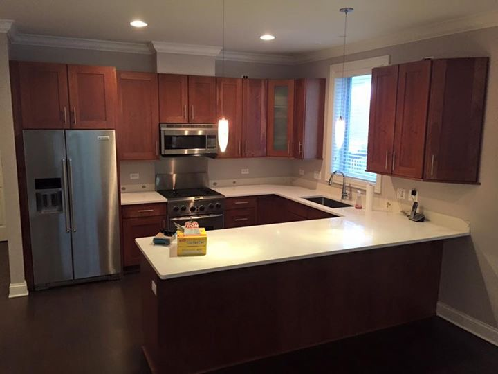 Kitchen Cabinet Refinishing Chicago