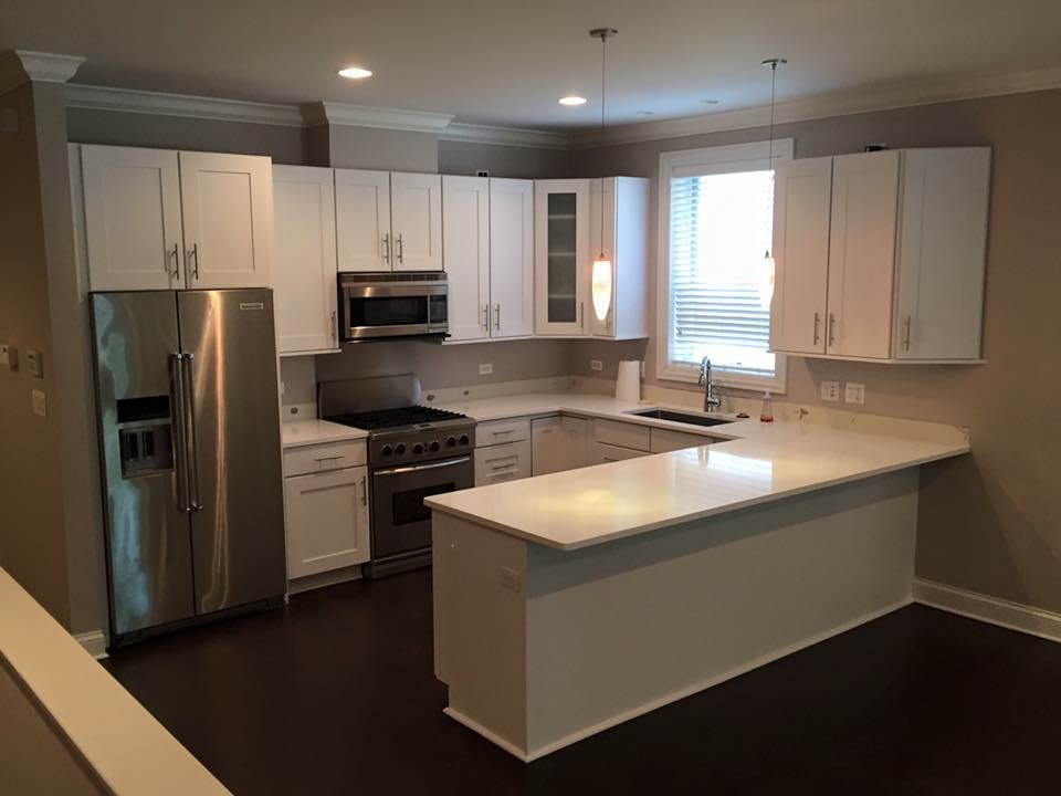 kitchen cabinets refinishing in chicago lincolnwood kitchen cabinets