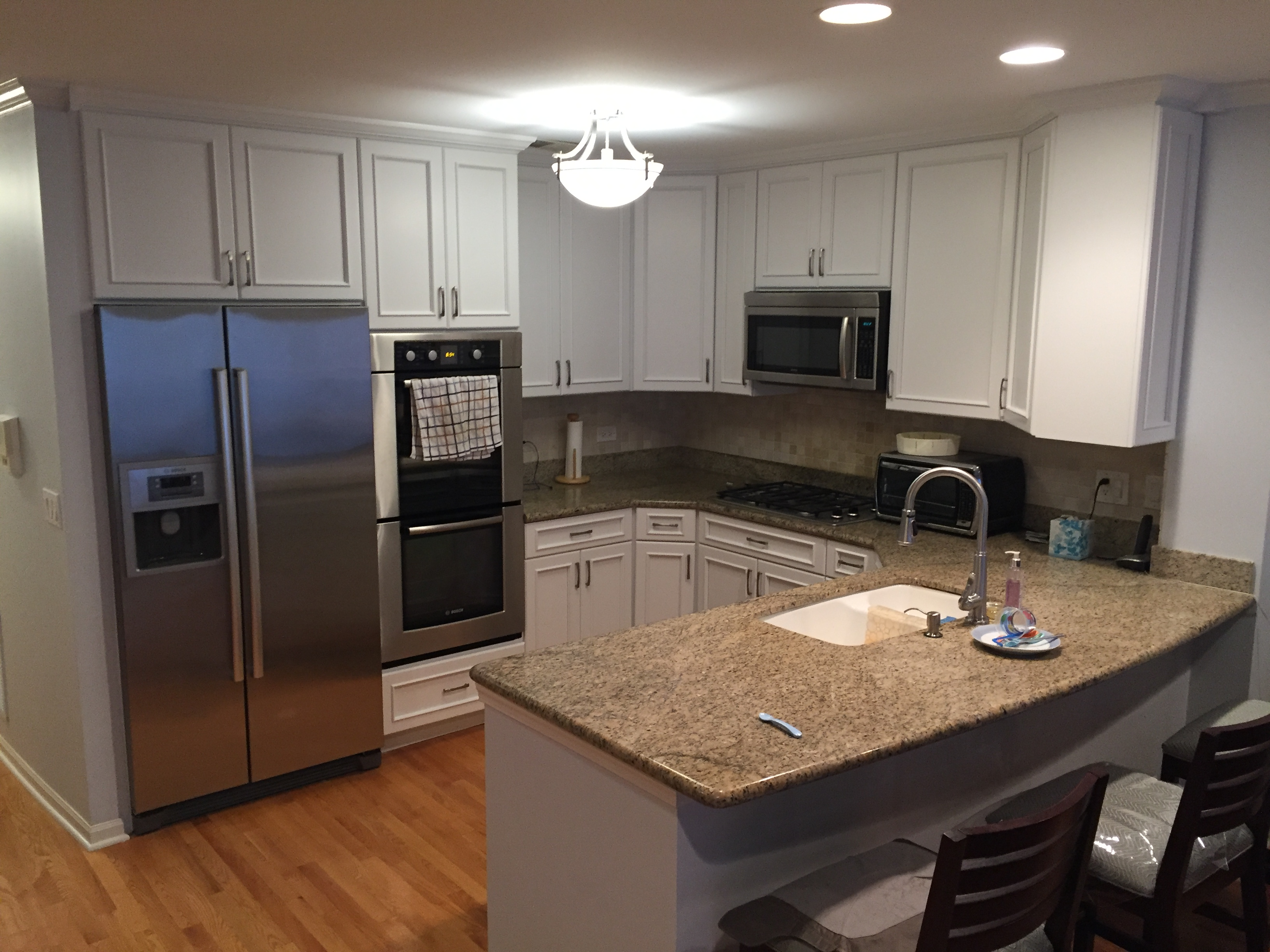 Kitchen Cabinets Refinishing – Chicago (Lincoln Park) | giantpainters